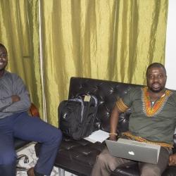 Raindolf Owusu and Eric